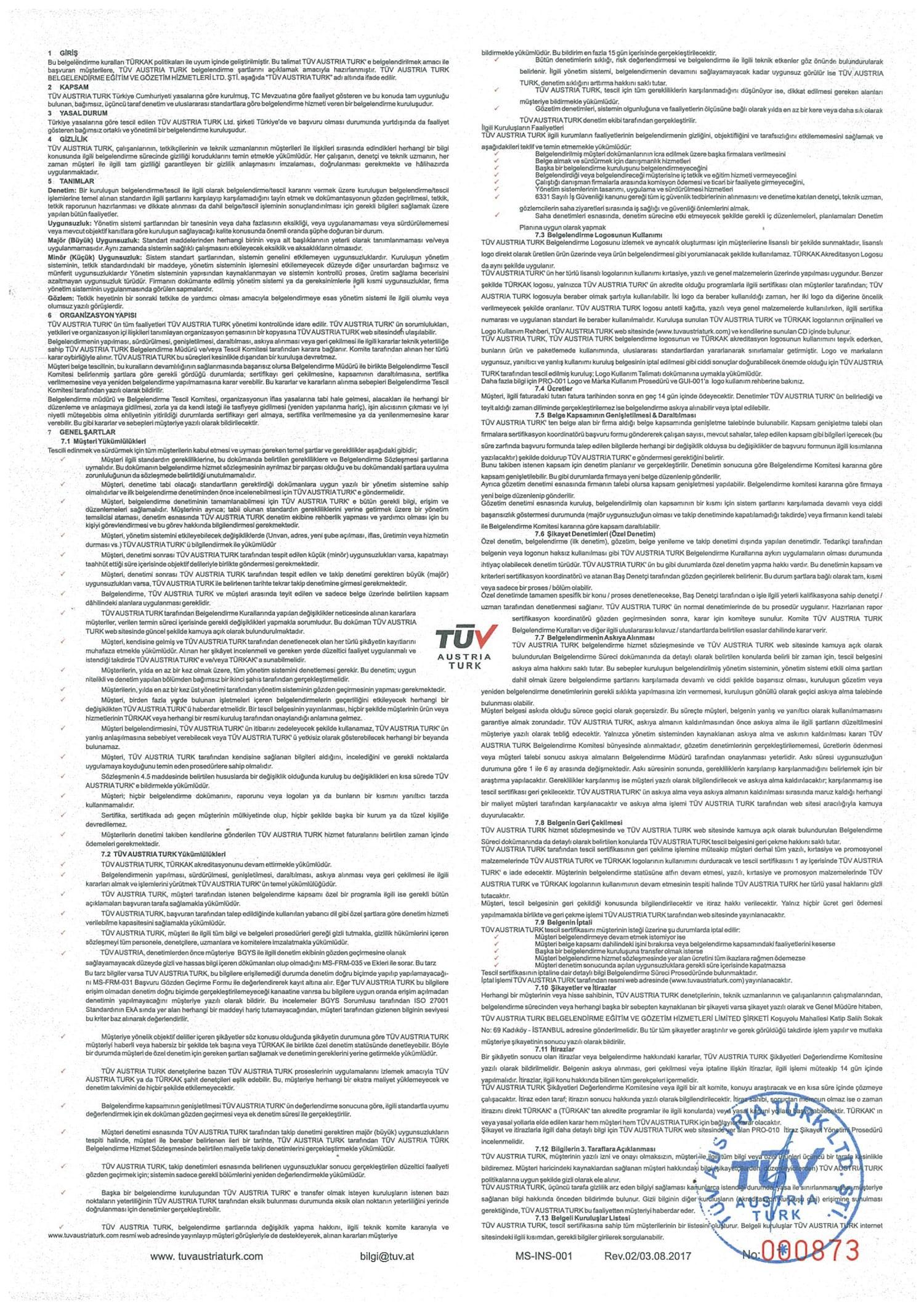 OHSAS 18001 TR-2